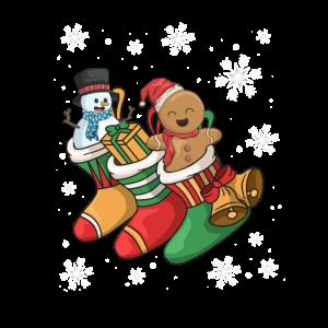Weihnachten Socke Nikolaus Lustiges Geschenk