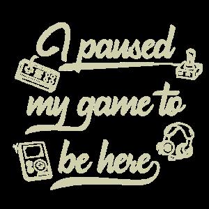 Paused Gaming