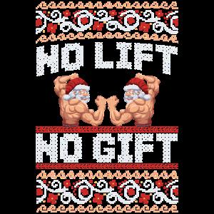 Weihnachten Training No lift no gift