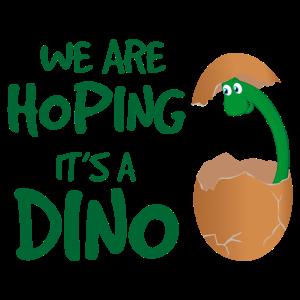 Schwangerschaft We are hoping its a Dino Lustig