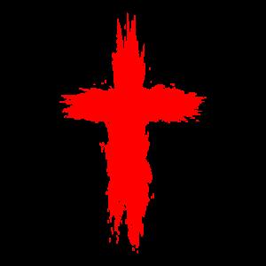 Religion Symbol Kreuz Rot