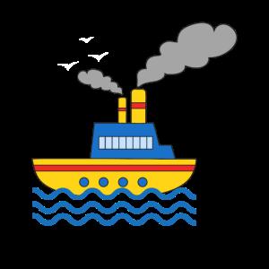 Schiff, Kapitän