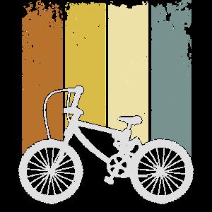 MTB-Mountainbike-Geschenk im Vintage-Stil für Radfahrer