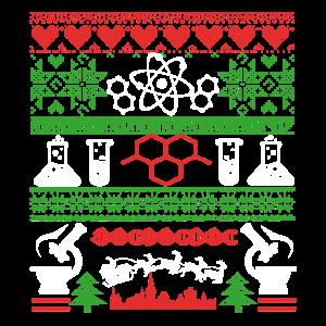 Wissenschafts-Weihnachtshemd