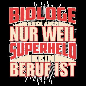 Biologe Superheld