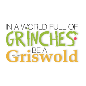 Don´t be a Grinch!