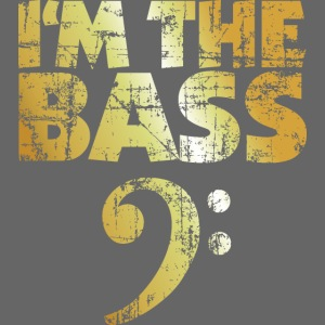I'm the Bass (Goldgelb)