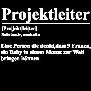 Project Manager Sarkasmus Geschenk Projektleiter