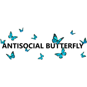 Antisocial butterfly - Antisozial Schmetterling