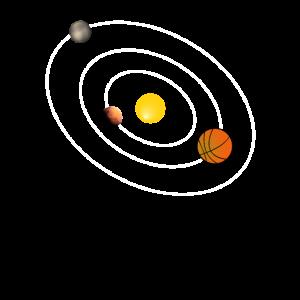 Basketball Sonnensystem