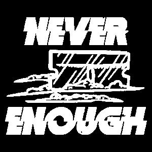Niemals genug
