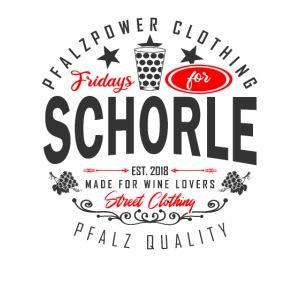Fridays for Schorle Pfälzer Dubbeglas Parodie