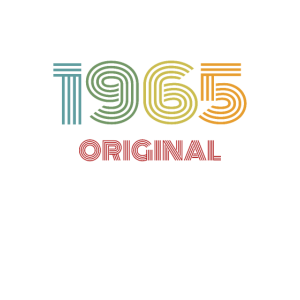 1965 Original Vintage Jahrgang '65 Geburtstag 60er