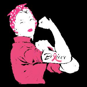 Brustkrebs Krebs Rosa Schleife Believe Frau