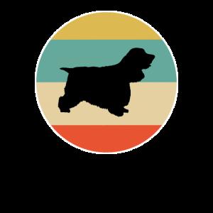 Cockerspaniel-Hundegeschenkentwurf