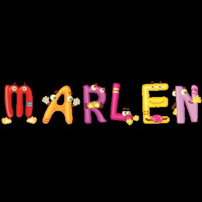Marlen - Cooles Design für alle die Marlen heissen. Bist Du Marlen oder kennst Du Marlen? - cooles Marlen Geschenk,Marlen t-shirt,Marlen schrift,Marlen lustig,Marlen geschenke,Marlen geschenk,Marlen geburtstagsgeschenk,Marlen geburtstag,Marlen geburt,Marlen