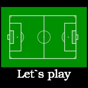 lets play Fussballfeld