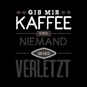 Kaffee Koffein Morgenmuffel Spruch