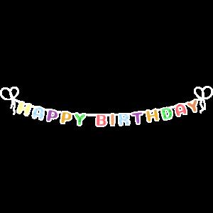 Wimpel Fahnen Happy Birthday Partydekoration Fahne