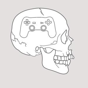 Gaming im Kopf - Totenkopf Schädel Controller