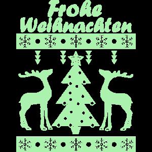 Frohe Weihnachten Green