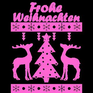 Frohe Weihnachten Pink