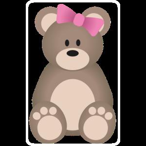 Teddybär Mädchen