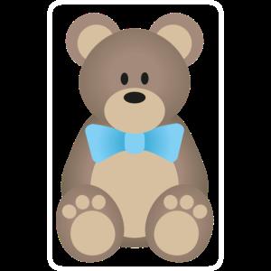 Teddybär Junge