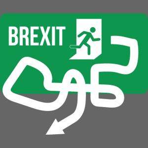 Brexit Exit Sign