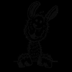 Drolliges Lama - Alpaka - Tiere - Comic