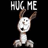 Hug Me Lama - Alpaka - Comic - Tiere - Llama