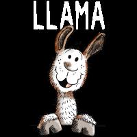 Llama - Lama - Alpaka - Tiere - Comic - Fun