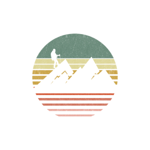 Bergsteiger Vintage Berge