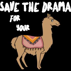 Save the drama for your LLama Lama