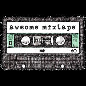 Casette awsome mixtape old school
