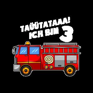 Feuerwehrauto 3. Geburtstag 3 Jahre I Feuerwehr