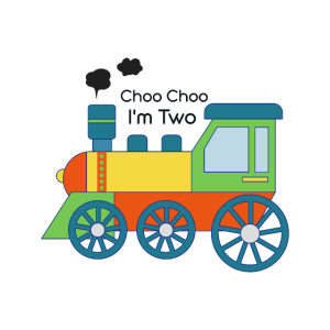 2. Geburtstag - Eisenbahn