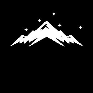 Berg Berge Schnee Silhouette