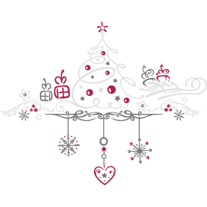 Weihnachten. Weihnachtsbaum Dekoration