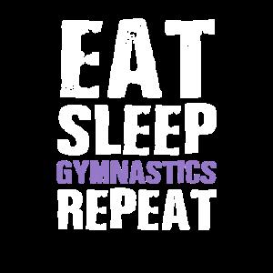 Eat Sleep Gymnastics Gift Ideas Gymnast Gifts For
