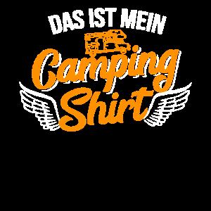 Mein Camping Tshirt Wohnwagen Urlaub