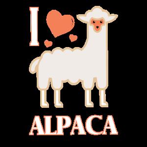 Alpaka love - I love Alpaca