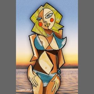 Kate Upton x Picasso