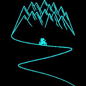 Fahrrad MTB Mountainbike Berge Radfahrer Biker