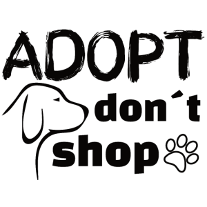 Adopt don't shop Animal rights Tierschutz Aktivist