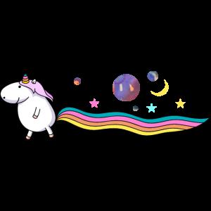 Einhorn im Universum