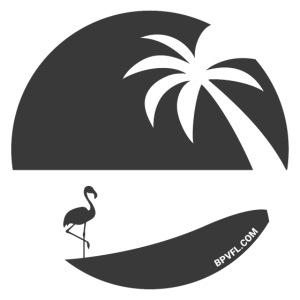 Logo French Floridian noir