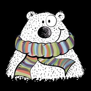 Kleiner Winterbär - Bär - Comic - Tier - Tiere