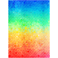 Buntes Muster (Dreiecke)