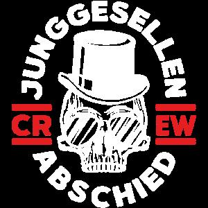 junggesellenabschied skelett crew